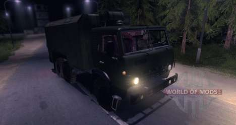 KAMAZ 4310 (beta version) for Spin Tires