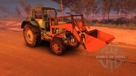 MTZ-82 with Kuhn for Spin Tires