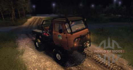 UAZ 3303 Ladoga Trophy for Spin Tires
