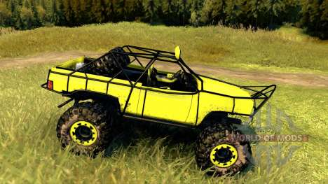 Chevy Blazer Rock Crawler for Spin Tires