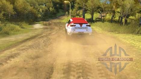 Mitsubishi Lancer Dakar for Spin Tires