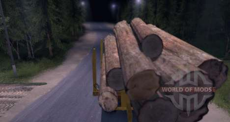 Hayes HQ 142 (HDX) Logging Truck for Spin Tires