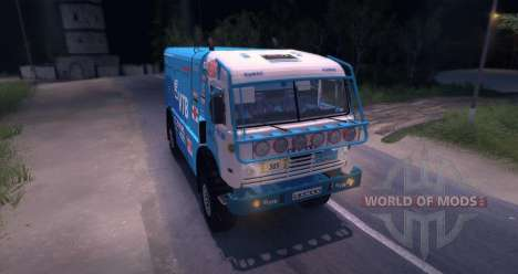 KAMAZ MASTER 4911 Beta for Spin Tires