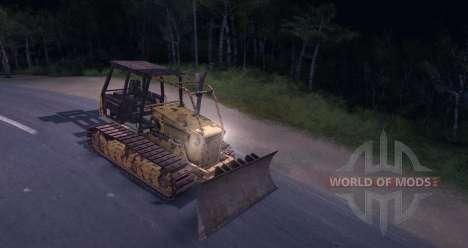 Bulldozer for Spin Tires