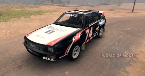 Audi Sport Quattro for Spin Tires