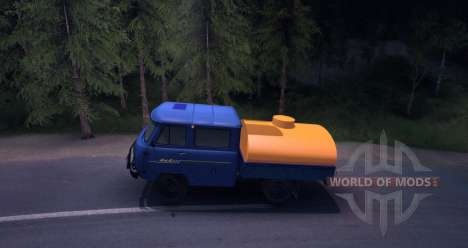 UAZ 39094 for Spin Tires
