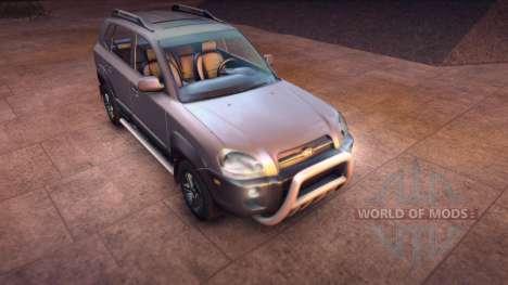 Hyundai Tucson for Spin Tires