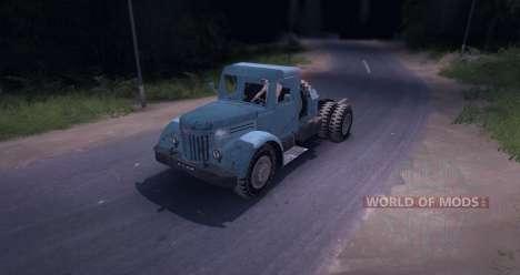 MAZ 200V for Spin Tires