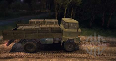 IFA W50LA for Spin Tires