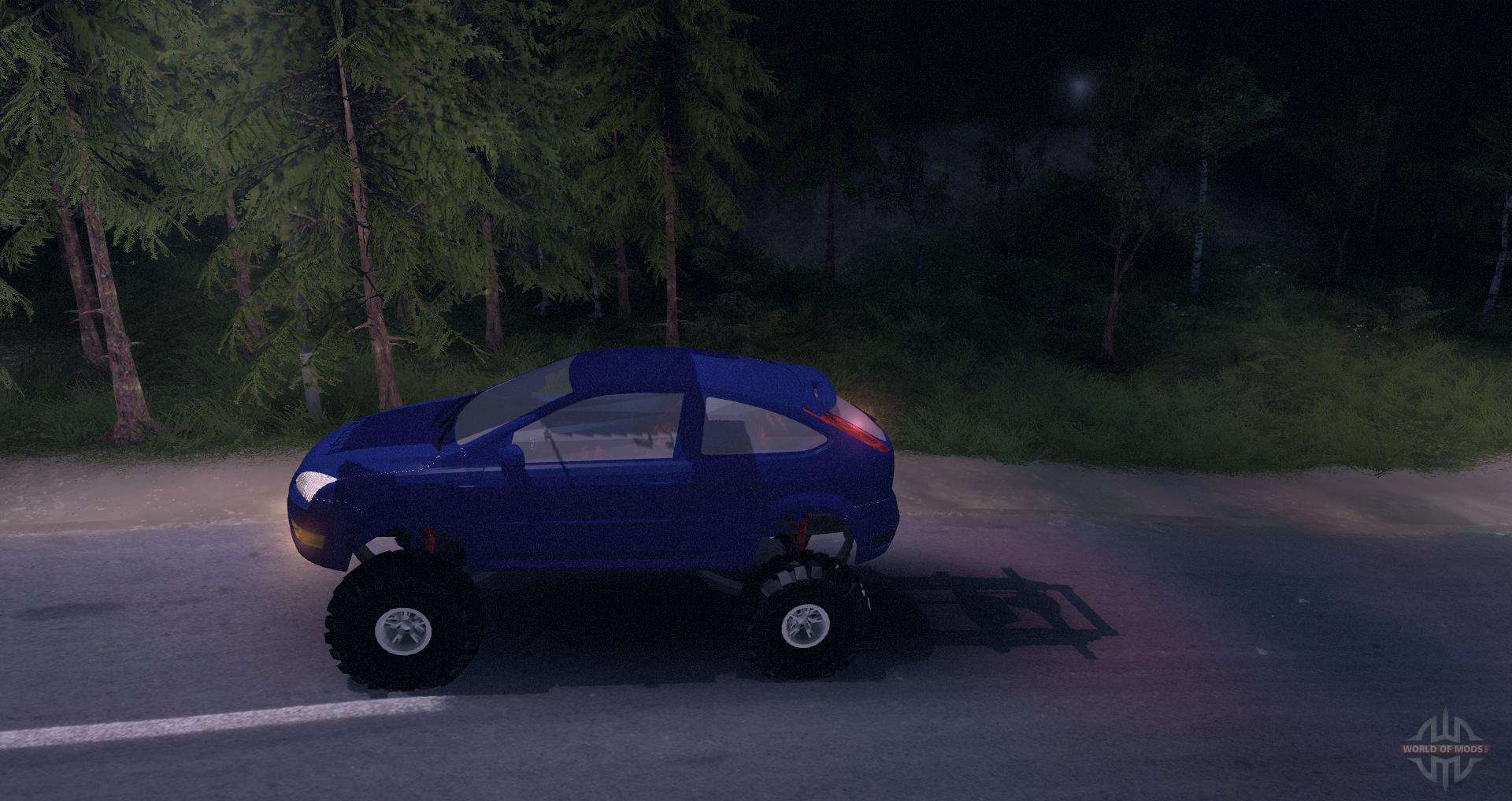 Ford Focus Off Road Tires >> Ford Focus 2 Offroad For Spin Tires