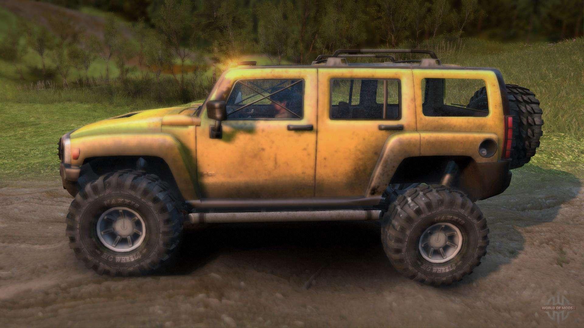 Hummer H3 For Spin Tires