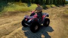 ATV Honda TRX 680 for Spin Tires