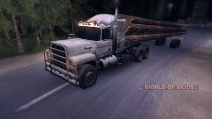 MACK Log Truck for Spin Tires