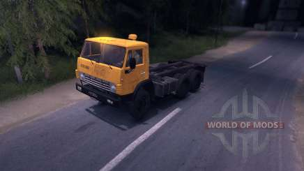KAMAZ 55102 for Spin Tires