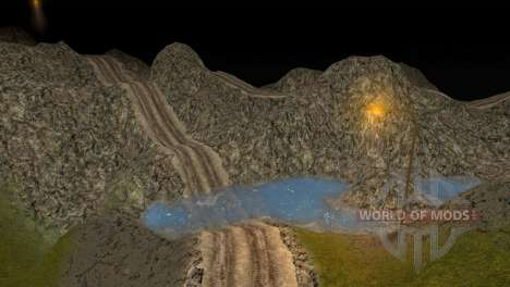 Map Of StonesMine for Spin Tires