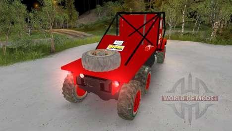 Praga V3S Truck Trial for Spin Tires