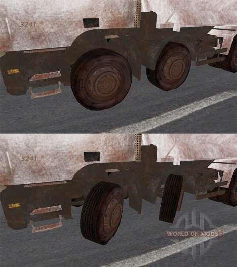 Mercedes-Benz Actros 3241 for Spin Tires