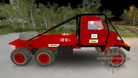 Praga V3S Truck Trial for Spin Tires