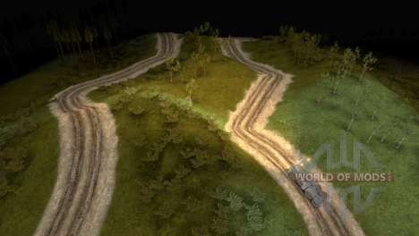 The Logging Trail Map for Spin Tires