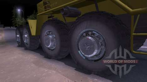 Maz-537 for Spin Tires