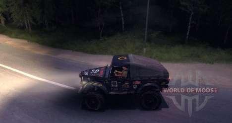 Gaz-69 Offroad Edition v1.1 for Spin Tires