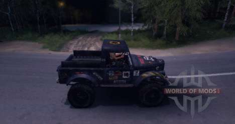 Gaz-69 Off Road Edition for Spin Tires