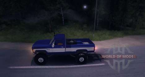 Chevrolet Silverado 1979 for Spin Tires