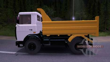 Maz-5551 for Spin Tires