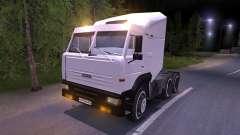 KAMAZ-6460 white