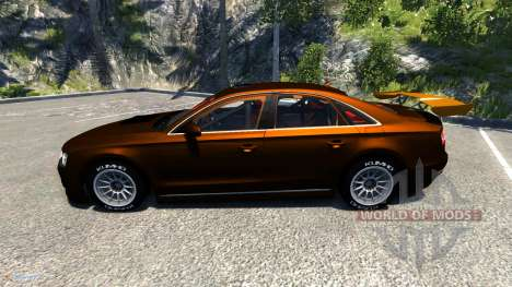 Audi A8 Sport for BeamNG Drive