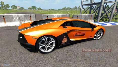 Lamborghini Aventador for BeamNG Drive