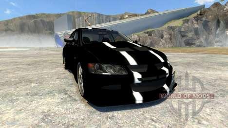 Mitsubishi Lancer Evolution VIII 2003 for BeamNG Drive
