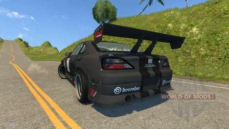 Nissan Silvia S15 for BeamNG Drive
