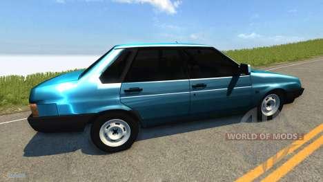 VAZ-21099 Lada Sputnik v1.1 for BeamNG Drive