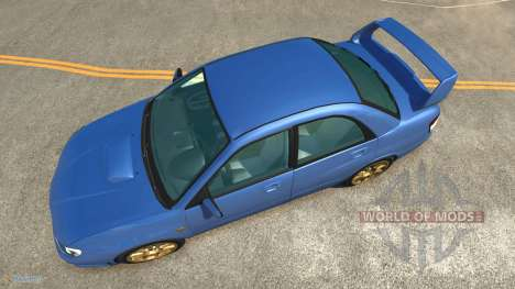 Subaru Impreza WRX STI for BeamNG Drive