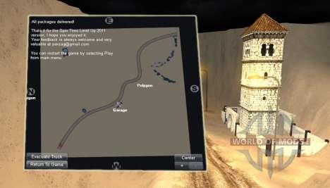 Map-Desert- for Spin Tires