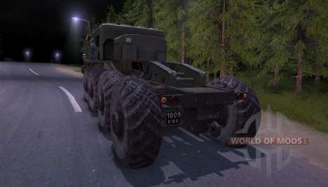 Maz-535 for Spin Tires