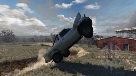 Pickup Gavril Derby for BeamNG Drive