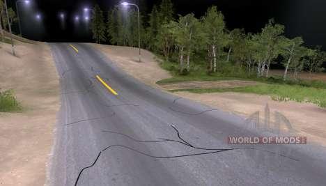 New asphalt for Spin Tires