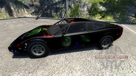 Civetta Bolide Super Blue v2.0 for BeamNG Drive