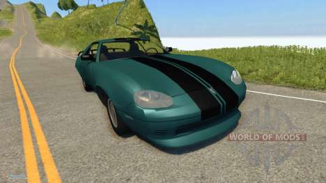 Jaguar XJ-S for BeamNG Drive