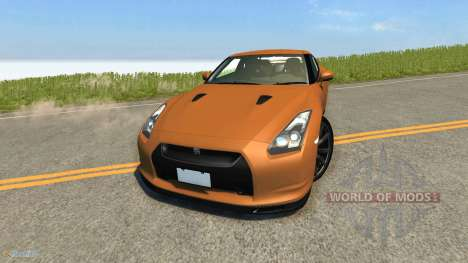 Nissan GT-R for BeamNG Drive