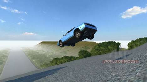 Location Skyjump for BeamNG Drive