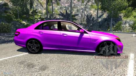 Mercedes-Benz E63 for BeamNG Drive