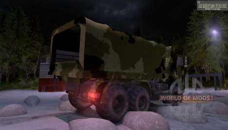 KAMAZ-65117 Camo for Spin Tires