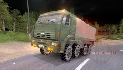 Pak and KrAZ trucks for Spin Tires