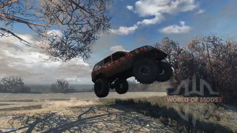 Jeep Grand Cherokee Trail for BeamNG Drive