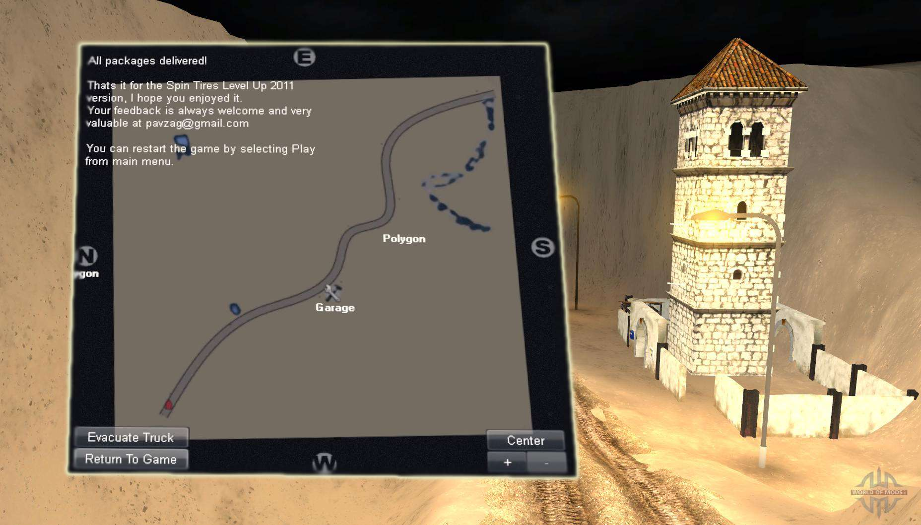 Map desert for spin tires gumiabroncs Choice Image