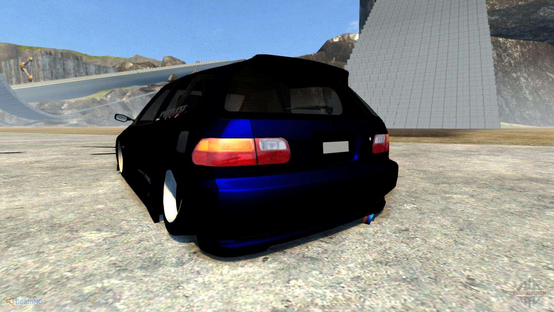 Honda Civic For Beamng Drive