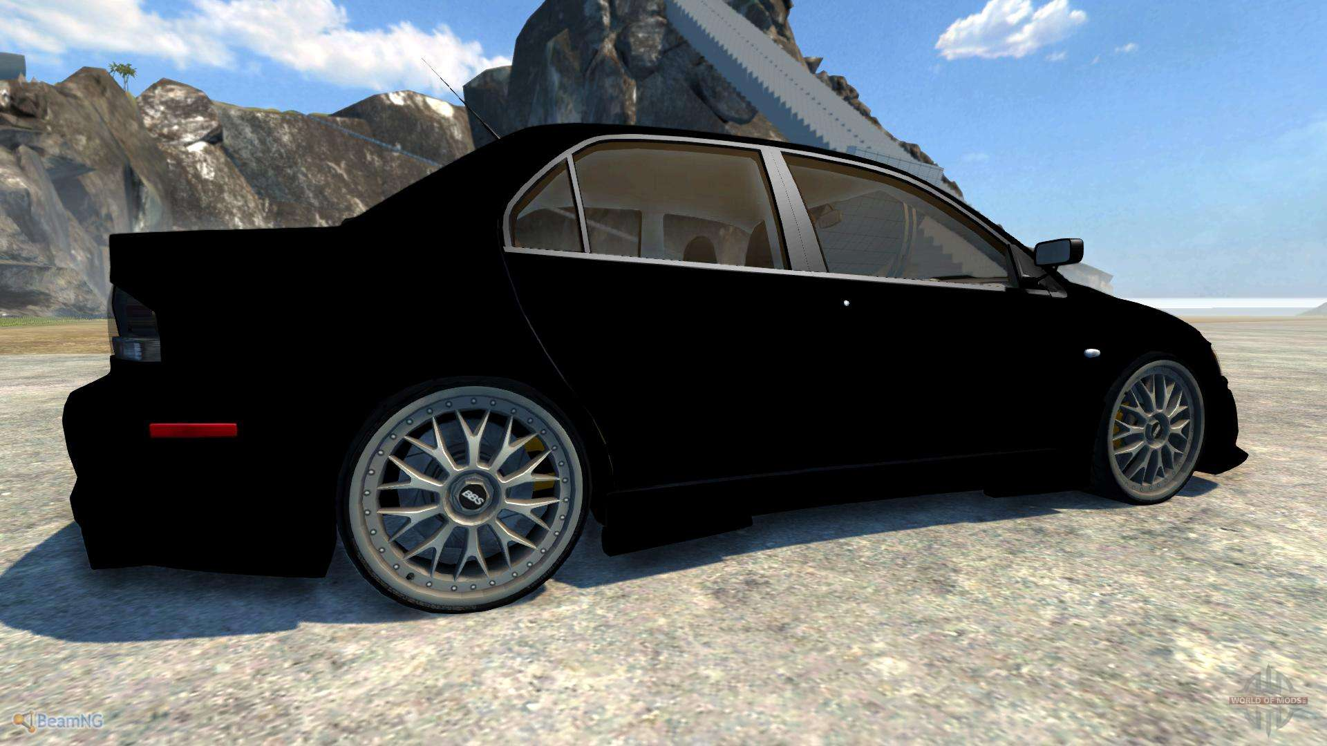 lancer evolution viii 2003 for beamng drive